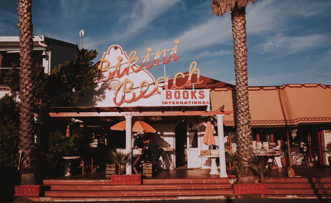 Bikini Beach bookshop in Gordon's Bay.