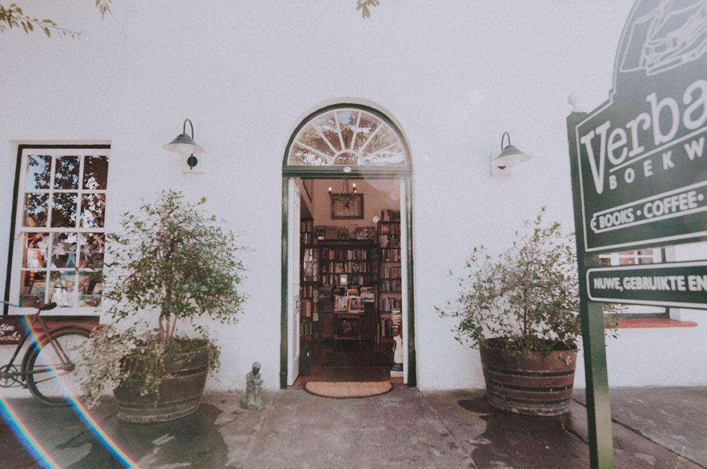 Verbatim bookshop in Stellenbosch.