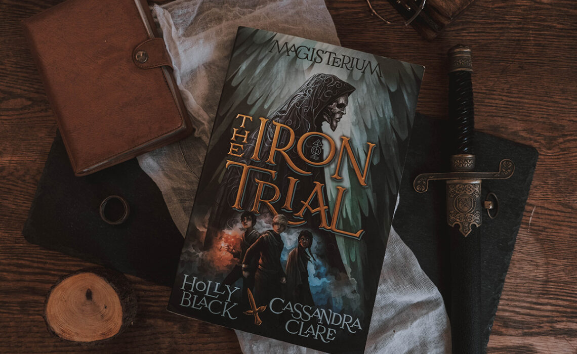 An image of The Iron Trial's cover.
