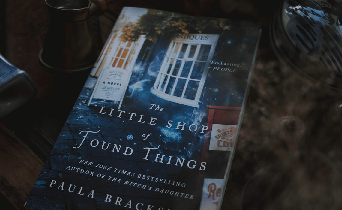Cover of The Little Shop of Found Things.